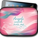 Angels Watch Over Me Large Tablet/Bible Case