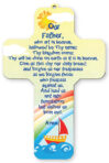 Wood Cross – Our Father Prayer