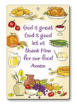 Wood Plaque – God is Great, God is Good