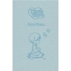ICB Precious Moments Holy Bible Blue Imitation Leather